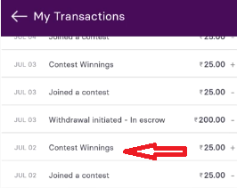 Gamezy Payment Proof