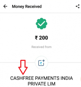 Gamezy Withdrawal Proof
